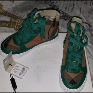 Burberry Hight top sneakers (Toddlers)